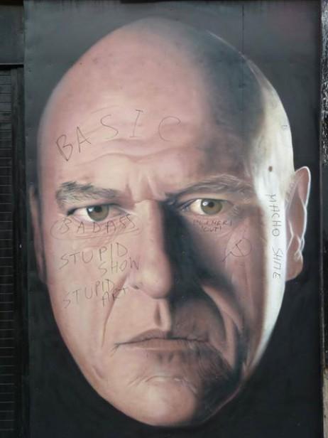 hank defaced
